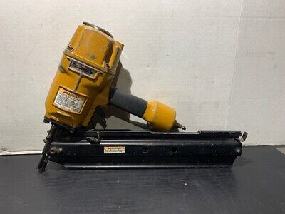 Used Stanley Bostitch N80sb-1 Pneumatic Framing Stick Air Nailer Angled