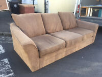 Nice large sofa 2.5mtrs long- FREE to collector