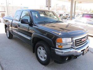 2005 GMC Sierra SLE only 108,000 km 4x4 xtracab pu $11.900