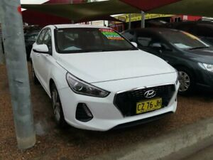 2019 Hyundai i30 PD2 MY19 Active White 6 Speed Sports Automatic Hatchback Minchinbury Blacktown Area Preview