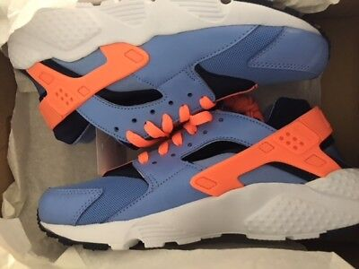 womens Nike Huarache Run Neu Damen Premium Sneaker Gr:38 hellblau/orange 90 97 ()