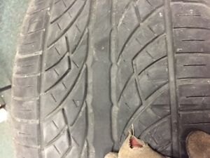 $800 · 4 tires 22 inch rubber on land rover rims 3on rims one ju Regina Regina Area image 3