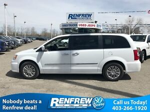2016 Chrysler Town & Country Leather/Sunroof/DVD