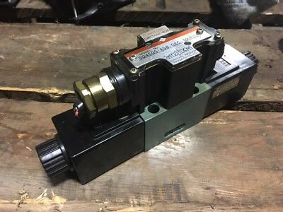 Sumitomo Directional Solenoid Valve, SD4SGS-AGB-02C-D24-21, 24VDC, Used WARRANTY