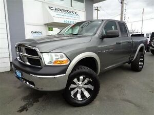 2012 Dodge Ram 1500 Quad Cab 4x4, LIFTED, 35 Inch Tires