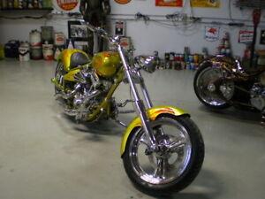 Custom Built Chopper.