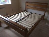 Solid wood and Varner Double Bed