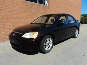2001 Honda Civic DX-G Certified A/C ICE COLD