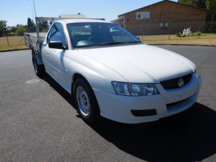 2005 Holden Commodore VZ 1 TONNER White 4 Speed Automatic Utility Ballina Ballina Area Preview