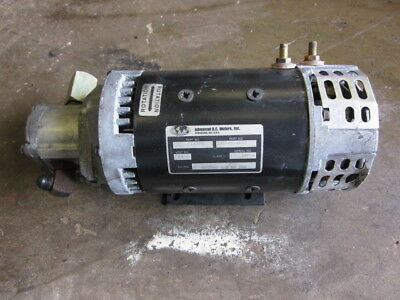 Crown Electric Forklift Hydraulic Pump Advanced Dc Motors 114330 140-01-4003 24v