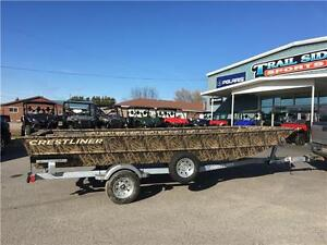 2017 Crestliner Retriever Jon Boats, 1756 and 1860, From $9599