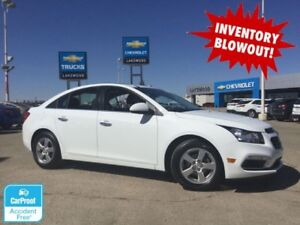 2016 Chevrolet Cruze Limited LT (Low kms, Back Up Cam, Heated Le