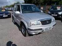 Suzuki Grand Vitara 1.6 SE 3dr LOW MILEAGE 3 MONTH WARRANTY Minster Autos ME12 3RT