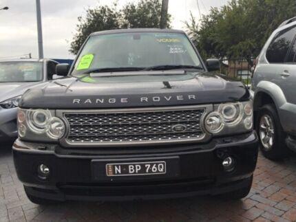 2005 Land Rover Range Rover Vogue L322 06MY V8 Black Auto Sports Mode Wagon Five Dock Canada Bay Area Preview