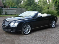 Bentley Continental 6.0 Speed W12 GTC 2dr - GTC Plate Included