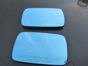 Bmw E36 E46 E39 Door Mirror Glass Driver Passenger Mint