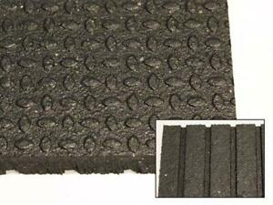 NEW! Top Quality Rubber Flooring - 4 x 6 x 3/4