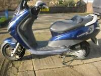 PEUGEOT ELYSTAR 50cc SCOOTER-NEEDS ATTENTION