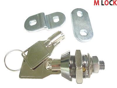 Lot Of 15 38 Tubular Cam Lock Replacement Lock 1 Key Pull 90 Degree Turn