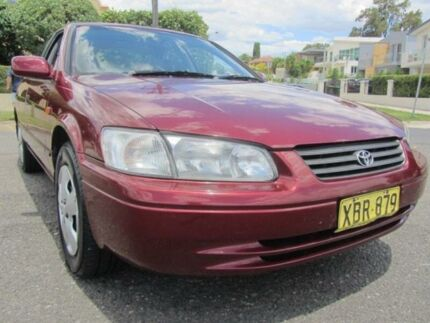 2000 Toyota Camry MCV20R Conquest Burgundy 4 Speed Automatic Sedan Croydon Burwood Area Preview