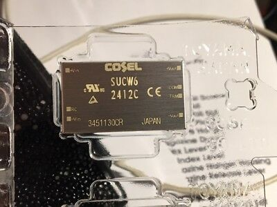 Cosel Sucw62412c Isolated Dc To Dc Converter 24vdc Input 12vdc Output - 6w