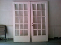 Exterior French Doors - set