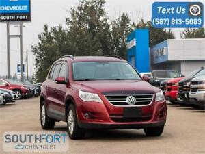 2011 Volkswagen Tiguan Highline Leather|Roof|AWD|Heat Seats