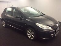 2007 Peugeot 307 1.6 HDi S 5dr IN GREAT CONDITION. HPI CLEAR.. Full service history.