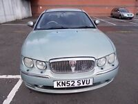 ROVER 75 2.0 D SE DIESEL SALOON 52 REG,, NICE CLEAN FAMILY CAR,, GOOD DRIVER,, MOT JANUARY 2018