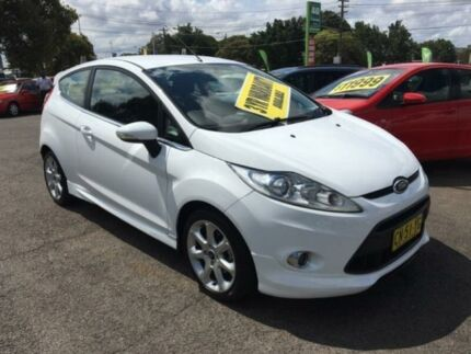 2010 Ford Fiesta WS Zetec White 5 Speed Manual Hatchback Lidcombe Auburn Area Preview