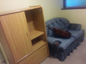 Beautiful furnished room just east of the UNB campus.