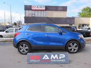 2013 Buick Encore FWD 1.4L LOW MILES! BIG SCREEN LEATHER+FABRIC!