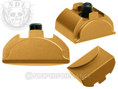 For Glock Gen4 Grip Plug Al9 Gold 17 19 22 23 24 32 34 35 38 With Lasered Images