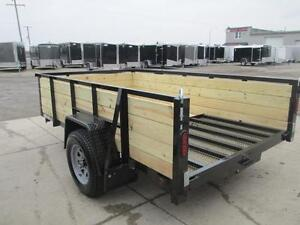 Ultimate all around utility trailer 6 x 10' w/ high sides $2089 London Ontario image 2