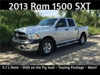 2013 Ram 1500 SXT ~ Hemi ~ Tow Package ~ $25,483 or $171 B/W