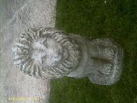 Lion garden orniment