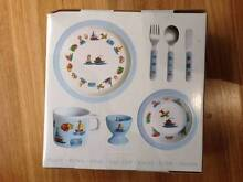 Cars boats and trains eating set Northmead Parramatta Area Preview