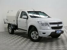 2013 Holden Colorado RG DX (4x2) White 5 Speed Manual Cab Chassis Jandakot Cockburn Area Preview