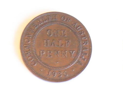 Australia 1/2 Penny 1936
