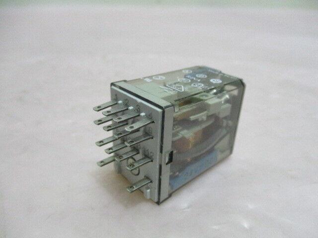 Finder Type 55.34, Relay, 4 PDT, 5A, 250V. 420094