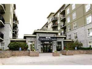 Clean Clareview Courts 1 bed + den unit available now