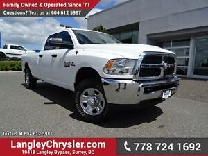 2016 RAM 3500 SLT ACCIDENT FREE W/ParkView BACKUP CAMERA & BL...