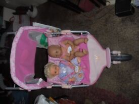 Bundle of Baby Born Items and other Dolls - VGC