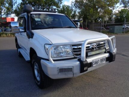 2005 Toyota Landcruiser White Manual Wagon Mile End South West Torrens Area Preview