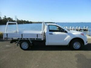 2013 Mazda BT-50 MY13 XT (4x2) White 6 Speed Manual Cab Chassis Dapto Wollongong Area Preview