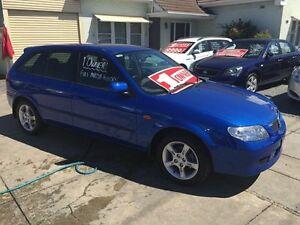 2003 Mazda 323 BJ II-J48 Astina Shades Blue 5 Speed Manual Hatchback Park Holme Marion Area Preview