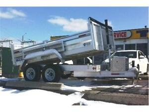 ALL ALUMINUM DUMP TRAILERS BY SAVAGE - MADE IN CANADA