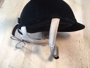 Lami-Cell Horse Riding Helmet with Leather Chin Strap