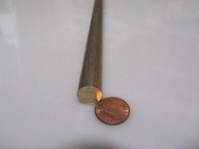 932 Sae 660 Bearing Bronze Rod 12 Dia. X 13 Length 1 Pcs