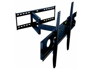 """TygerClaw LCD4091BLK 32"""" - 63"""" Tilting & Articulating Single Arm"""